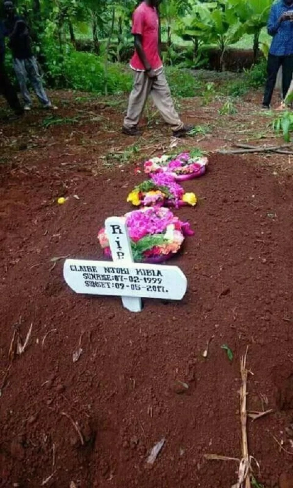 Something absolutely weird happened inside the grave when Nairobis prettiest thug was being buried