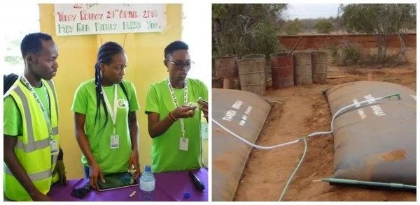 Schoolgirls invent technology that turns waste into a renewable source of energy! (photos, video)