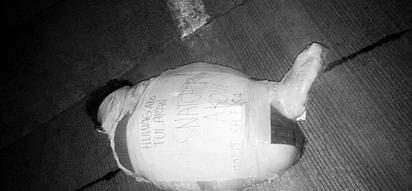 PHOTOS: Snatcher's body found in EDSA