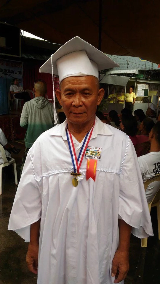 63-year-old man receives elementary diploma