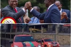Afisi za Jubilee kuharibiwa vibaya na maandishi ya Raila