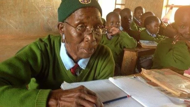 Meet Kenya's and world's arguably oldest primary school student