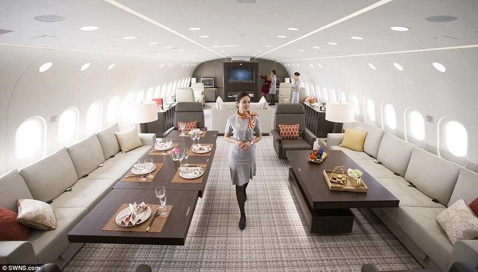 See the inside of world's largest private jet that will cost you N7.8m per hour
