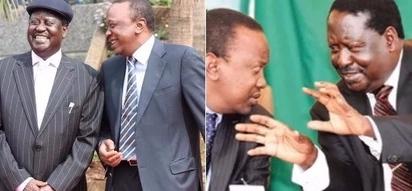 Rais Uhuru ashangazwa na tabia ya Raila Odinga
