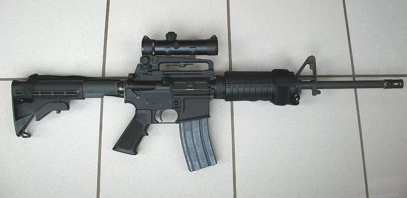 The AR-15 the deadly weapon used in US mass shootings