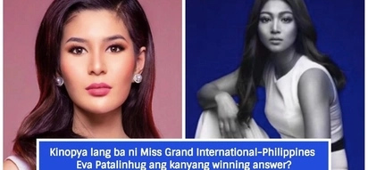 Plagiarist daw? Netizen point out similarity of Binibini titleholder to a celebrity pledge