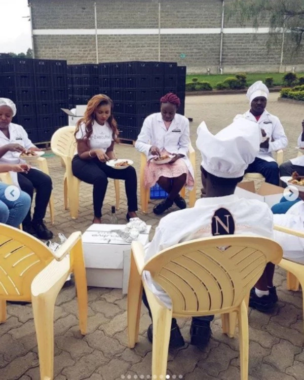 Photos of Kenya's richest heiress giving her employees special treat excites Kenyans