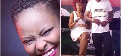 Citizen TV presenter flaunts baby bump and her white 'sponsor' (Photos)