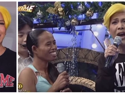 Fan idodonate ang buhok kay Vice Ganda! 'The Revenger Squad' star receives a special gift from one of the madlang people