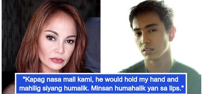 Nakakaloka ang mag-ina! Eula Valdes reveals her son Miguel was sometimes mistaken to be her boyfriend