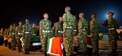 Family of killed KDF soldier asks Uhuru to do them this ONE favour