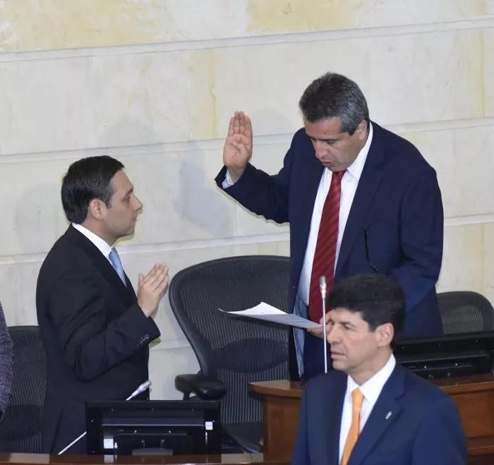 Ex víctima de las FARC, nuevo presidente del Congreso