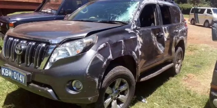 Abuse of public office as State car causes accident, impounded with chang'aa