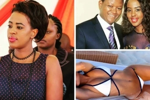 Governor Alfred Mutua's wife tears the internet with a hot, two-piece bikini photo