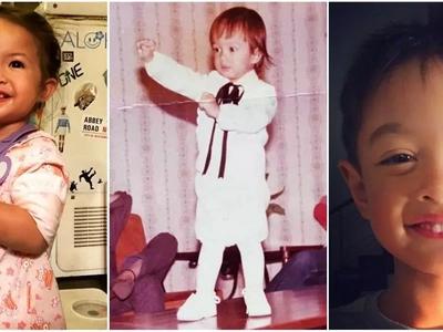 Sino ang nagmana sa kanya? Netizens are debating if this adorable baby photo of Ryan Agoncillo looks like Lucho o Baby Luna!