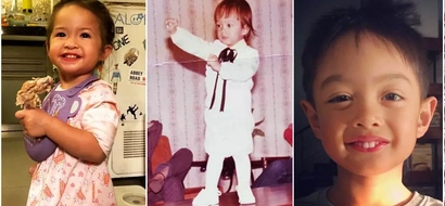 Sino ang nagmana sa kanya? Netizens are debating if this adorable baby photo of Ryan Agoncillo looks like Lucho o Baby Luna!