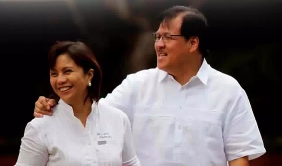 Leni Robredo's housing post, a reminder of her late husband