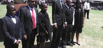 Photos: Jacob Juma's three other wives show up at funeral
