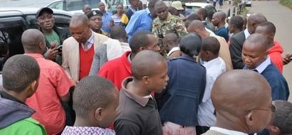 Siku 40 za mwizi: Jambazi ajiwekea MTEGO na kukiona cha mtema kuni (picha)