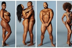 Brave men & women pose WITHOUT clothes to promote self-love (photos)