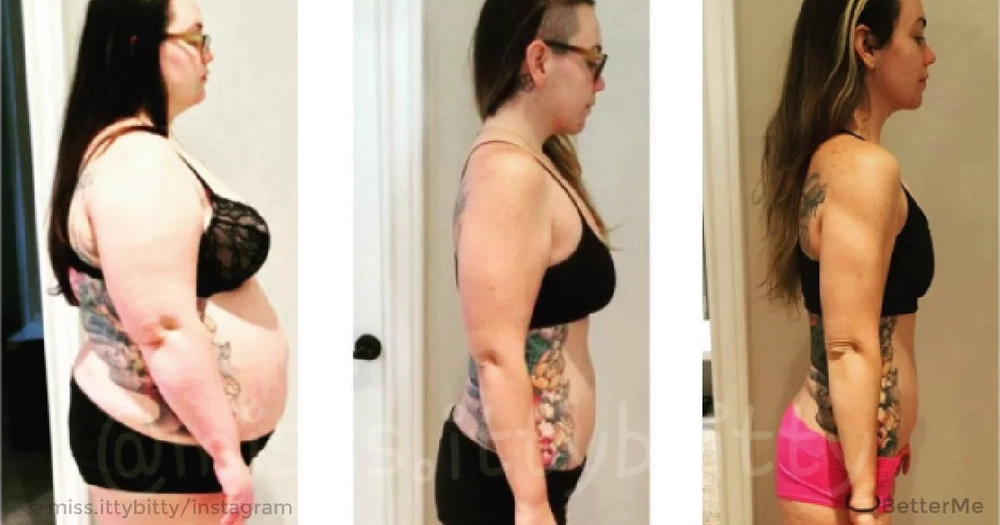 Courtney Maguire get rid of her bad habits and lost incredible 165 pounds!