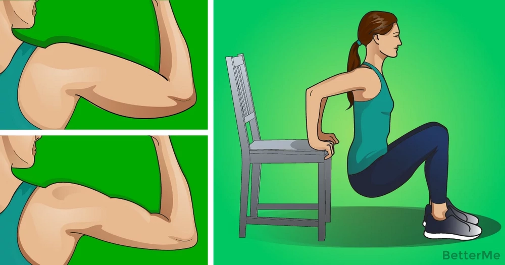 6 effective arm exercises to reduce fat