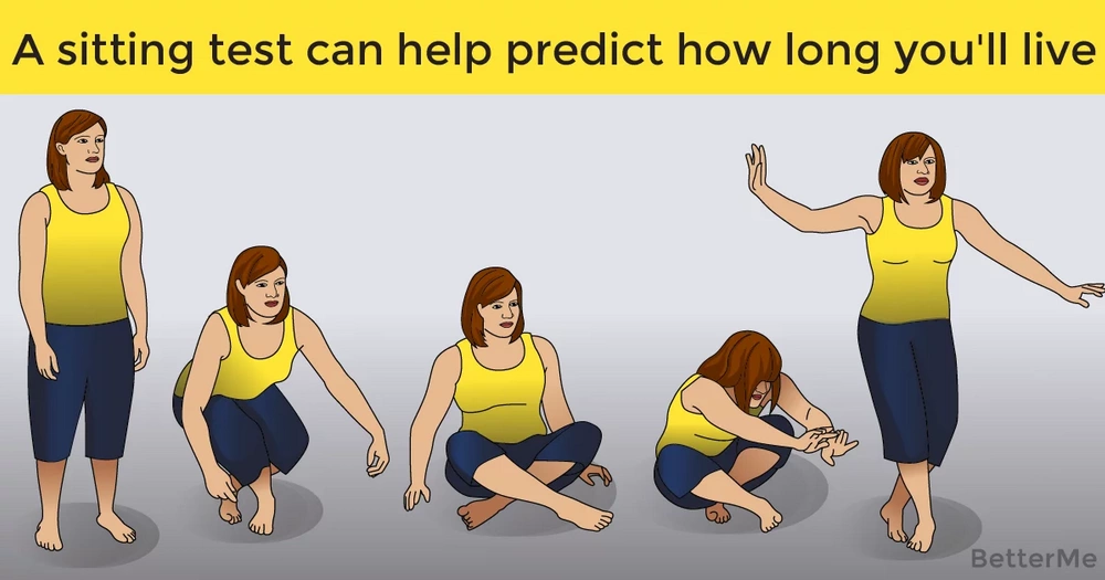 A sitting test can help predict how long you'll live