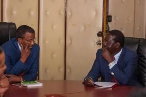 Photos: How Kibaki and Raila picked the current IEBC commissioners