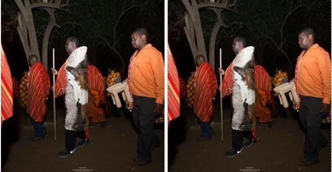 Raila afanyiwa maombi katika kaunti ya Samburu, watu wadhani ni ushirikina