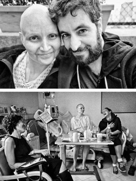 He captured every stage of his wife's fight with cancer