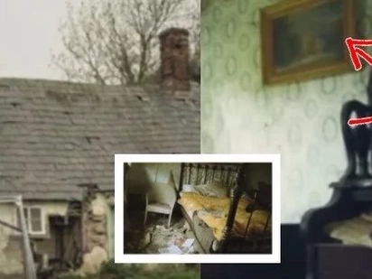 An urban explorer photographer stumbled across this abandoned cottage. Then he went inside and discovered that everything was actually not dumped...