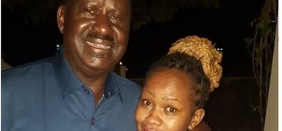 Thank you for making me go viral - Pretty woman pictured with Raila in Zanzibar tells Kenyans