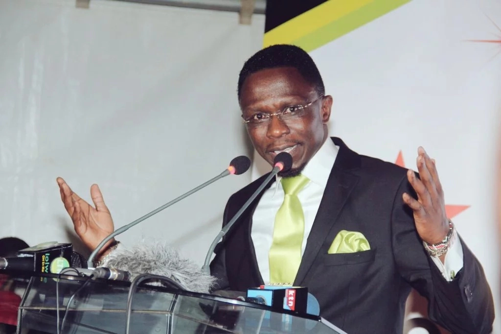 Ababu Namwamba criticised after launch of his new party