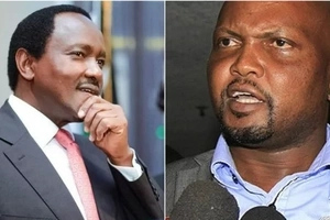 Moses Kuria posts video that 'exposes' Kalonzo's 'hypocrisy' over prices of unga