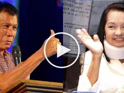 Gloria Arroyo praises Duterte: He is a stronger leader than I am