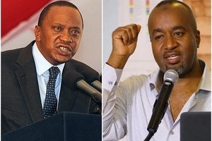 Eric Omondi releases this funny clip showing how PRESIDENT UHURU and JOHO attacked each other