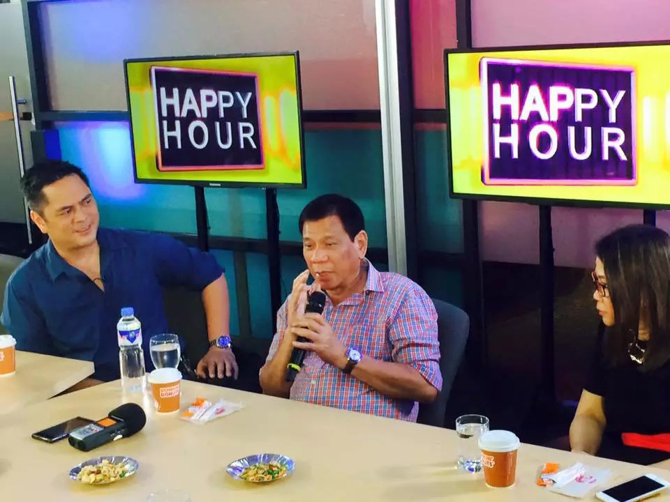 Duterte TV/radio program and tabloid to be launched in August