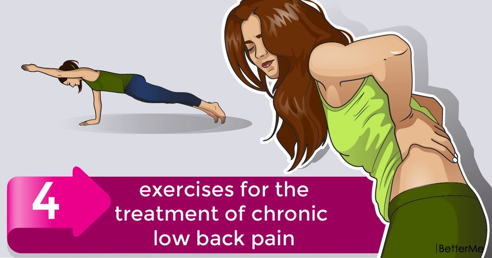 4 exercises for the treatment of chronic low back pain