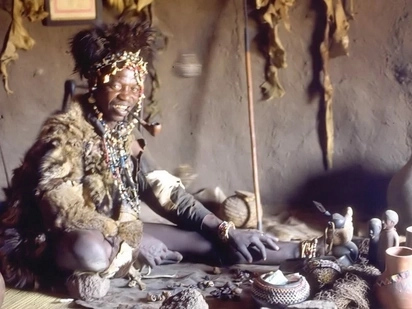 Witch doctor forces thieves to return goats they'd stolen to owner