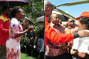 Popular RMS radio presenter meets Uhuru as she seeks MP seat under Jubilee