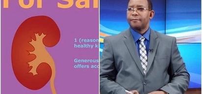 Msoto: Mtangazaji maarufu wa Citizen TV ataka kuiuza figo yake KSh 2.5 milioni
