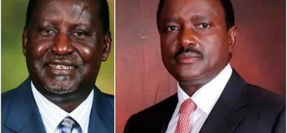Raila sharply DIFFERS with Kalonzo just months to elections