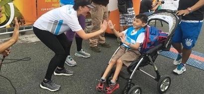 'Heroine' Anne Curtis leads fun run for disadvantaged children