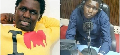 Churchill Show comedian Owago Onyiro cries after being conned 70K by hot lady
