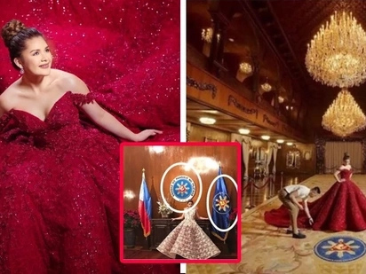Naku po! Nilabag ang batas? Isabelle Duterte under fire as netizens point out possible violations of EO 310 during pre-debut photo shoot!