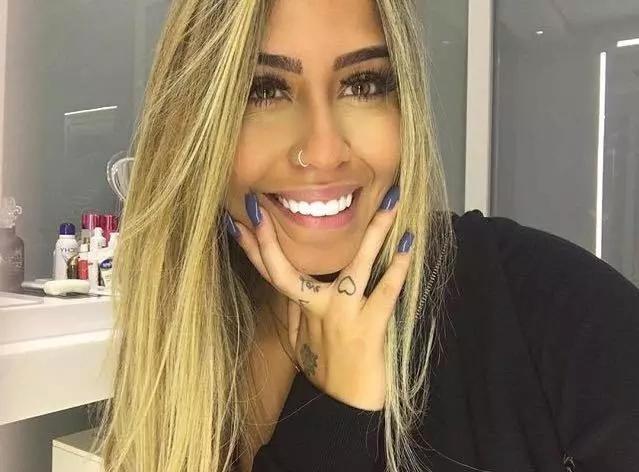 Esta es la hermana de Neymar, te quitará el aliento