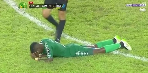 Tension and TEAR GAS as Zambia taught South Africa lesson during the AFCON U-20 semi-final clash