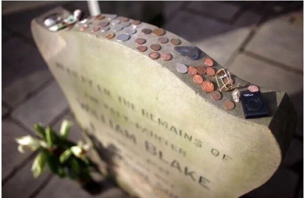Here's Why You Are PROHIBITED To Touch A Quarter Resting On Top Of A Grave Stone