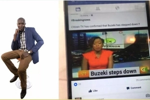 Man in trouble with Citizen TV posts this then deletes it but we took screenshots