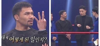 Bidang-bida sa Korea! Epic video of Manny Pacquiao together with Ryan Bang on a Korean show